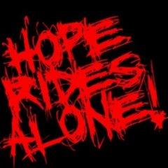 HopeRidesAlone