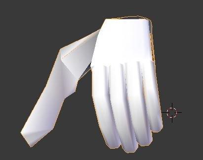 Hunter Human male COLLADA format segmented model edit mode reworked hands 2.JPG