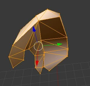 Hunter Human male COLLADA format segmented model edit mode hands 4.JPG